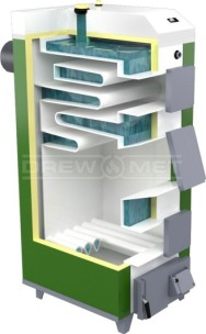 Твердотопливный котел Drewmet MJ-1 12 кВт. Фото 5