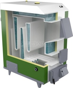 Твердотопливный котел Drewmet MJ-2 17 кВт. Фото 4