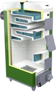 Твердотопливный котел Drewmet MJ-1 14 кВт. Фото 5