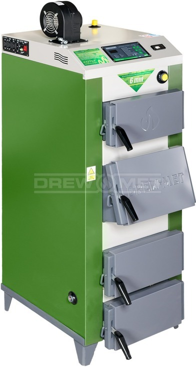 Твердотопливный котел Drewmet MJ-1NM 35 кВт