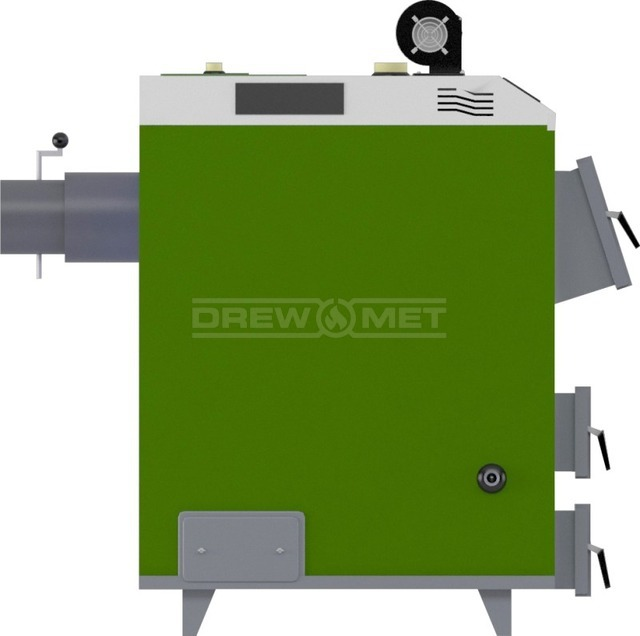 Твердотопливный котел Drewmet MJ-3 28 кВт. Фото 3