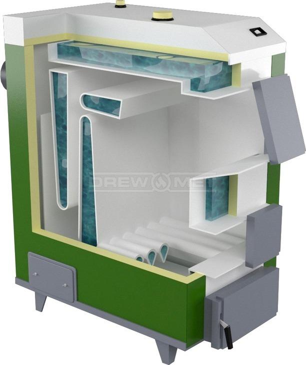 Твердотопливный котел Drewmet MJ-3 28 кВт. Фото 5