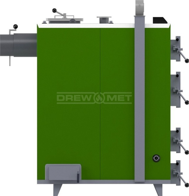 Твердотопливный котел Drewmet MJ-5 41 кВт. Фото 4