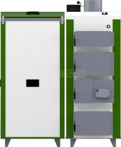 Твердопаливний котел Drewmet Biotec 24 кВт. Фото 4