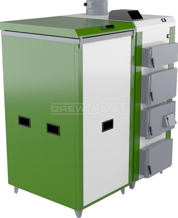 Твердопаливний котел Drewmet Biotec 28 кВт. Фото 2