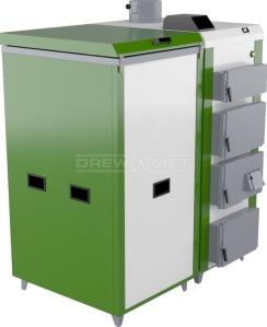 Твердотопливный котел Drewmet Biotec 35 кВт. Фото 2