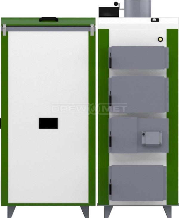 Твердотопливный котел Drewmet Biotec 41 кВт. Фото 4