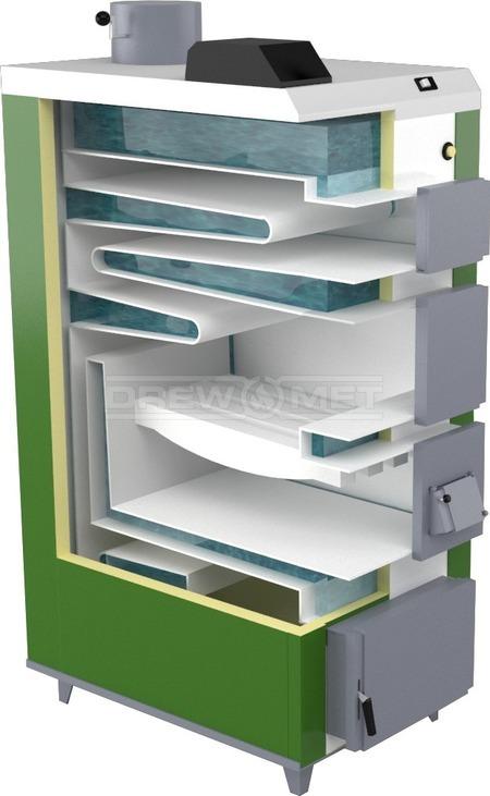 Твердотопливный котел Drewmet Biotec 41 кВт. Фото 5