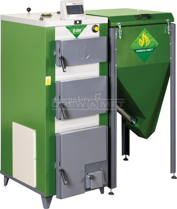 Твердотопливный котел Drewmet Biotec Kompakt 12 кВт