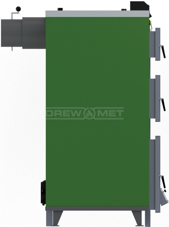 Твердотопливный котел Drewmet Biotec Kompakt 23 кВт. Фото 3
