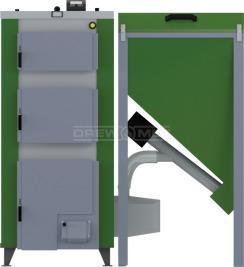 Твердотопливный котел Drewmet Biotec Kompakt 27 кВт. Фото 4