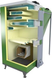 Твердотопливный котел Drewmet Biotec Kompakt 27 кВт. Фото 2