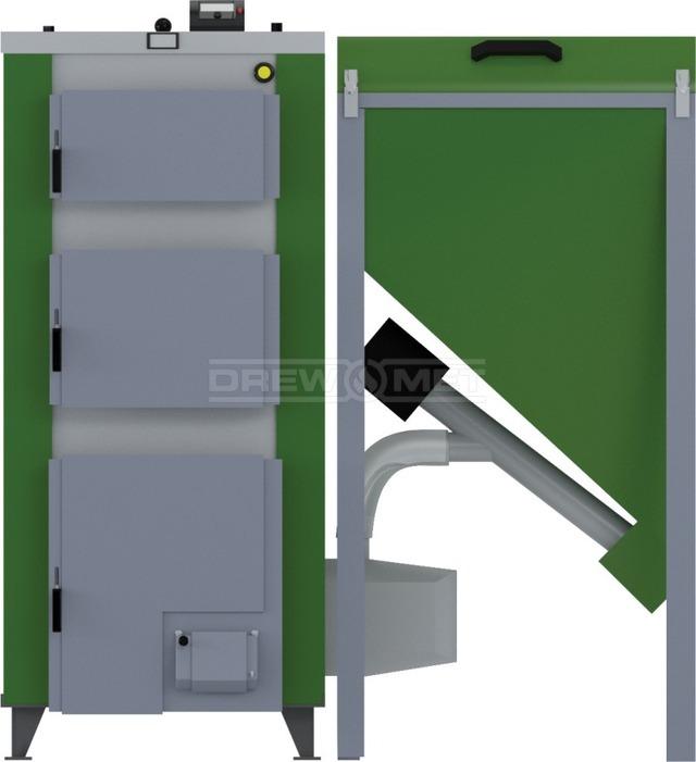 Твердотопливный котел Drewmet Biotec Kompakt 32 кВт. Фото 4