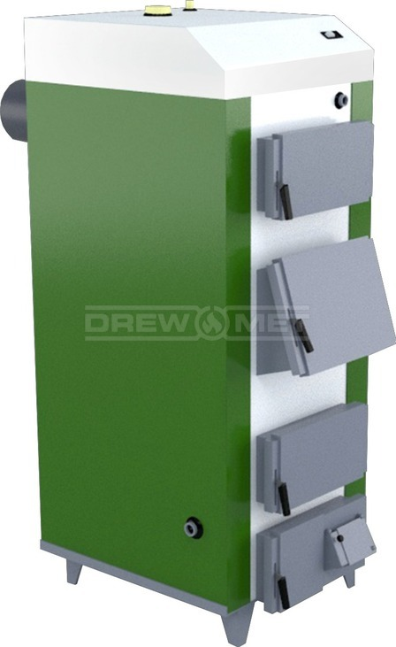 Твердотопливный котел Drewmet MJ-1 35 кВт. Фото 2